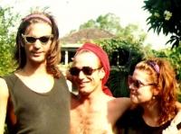 Steve Lucas, Ian Rilen & Cathy Green