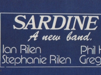 SARDINE v - a new band