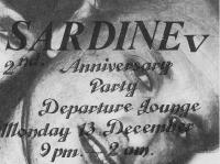 SARDINE v at the Departure Lounge.