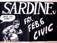 SARDINE V at the Civic