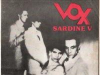 SARDINE v Vox magazine cover
