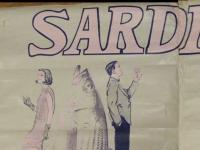 SARDINE v large art poster