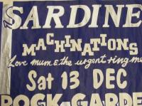 SARDINE v - first show 13/12/1980