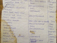 SARDINE v song credits list