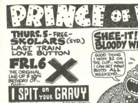 X at Prince of Wales flyer